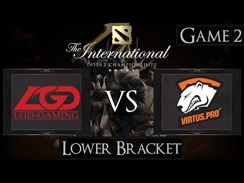 Dota 2 The International 2015 LGD vs Virtus.Pro