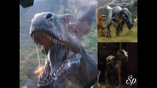 Jurassic World Fallen Kingdom Trailers and TV Spots: Allosaurus Screen Time