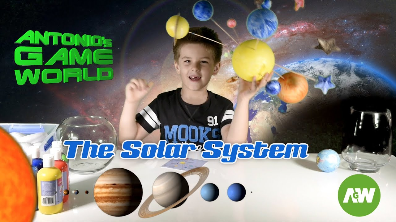 Build a Solar System for kids: Planets and Stars for fun ...