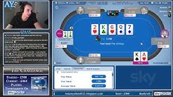 Sky Poker £500 Challenge - Mini UKOPS Saturday!