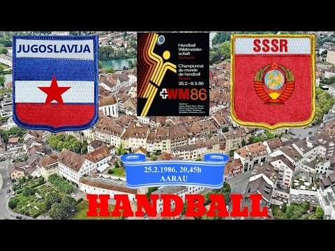 Handball гандбол rukomet-Jigoslavija-SSSR-full match-SVETSKO PRVENSTVO-WC SWISS 1986.