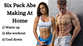 Six Pack Abs Making At Home / Six Pack Abs Workout At Home