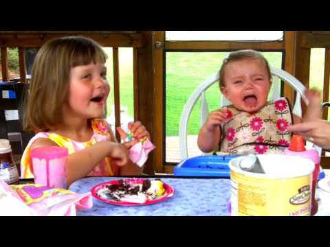 6 17 2010 Abigails First Birthday on the back porch all 4 of us