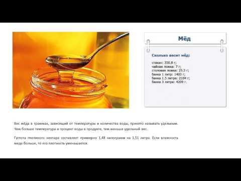 Как измерить мед без весов