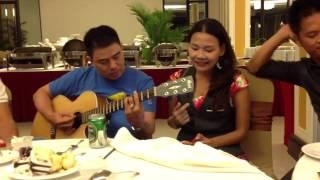 Giọng hát oanh vàng của MC Như Quỳnh nè ( guitar nhạc sĩ Tr