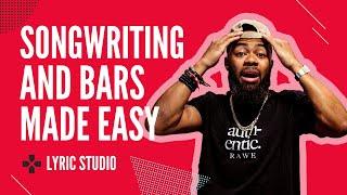 Writing Song Lyrics And Bars Just Got Easier | Lyric Studio