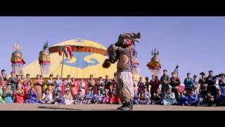 Figth scene from Skiptrace 2016