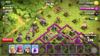 Amazing 700k Resource Raid!! My Best Ever! Clash Of Clans