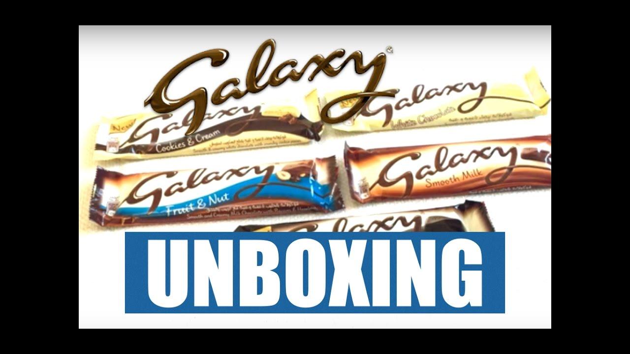 Galaxy Chocolate Mega Uboxing Galaxy Fruit Nut Smooth Dark White Chocolate Cookie And Cream