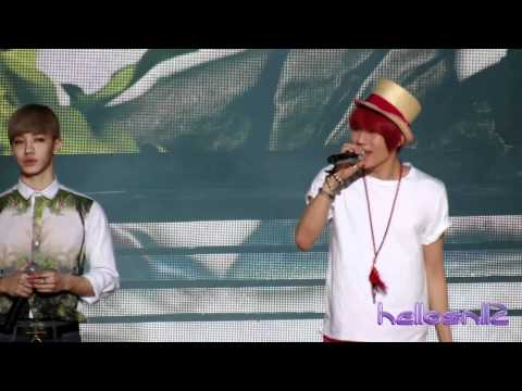 120623 Beast - Paradise (Special Stage)@Music Bank in Hong Kong