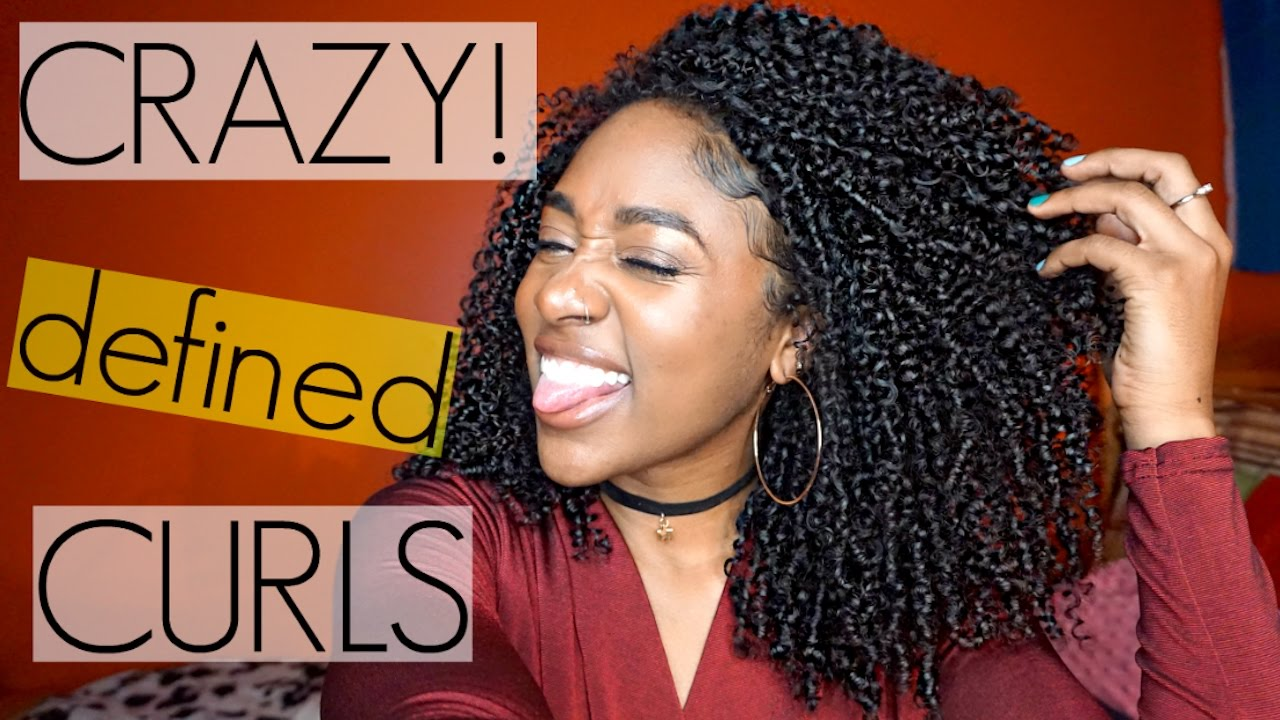 Shingling Method For Crazy Defined Curls Natural Hair Youtube