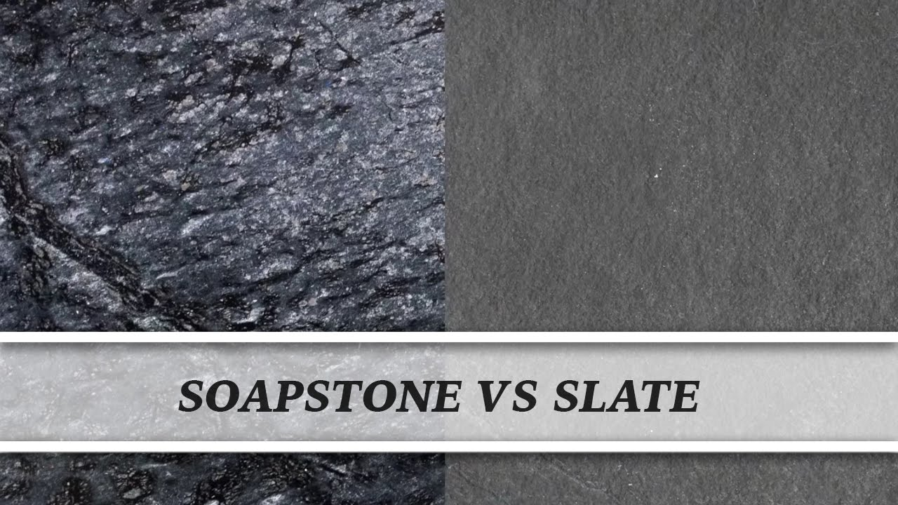 Soapstone vs Slate | Countertop Comparison - YouTube on