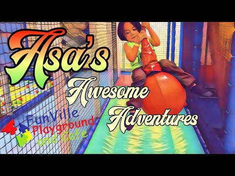 Funville Asa's Awesome Indoor Playground Adventure | Virginia Beach