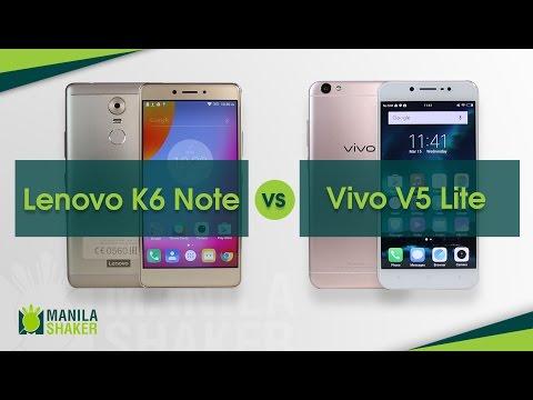 Lenovo K6 Note vs Vivo V5 Lite Camera Comparison + Gaming Review
