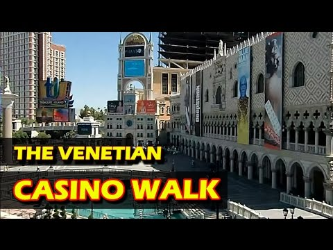 A walk through The Venetian Hotel & Casino in Las Vegas (OVERVIEW)