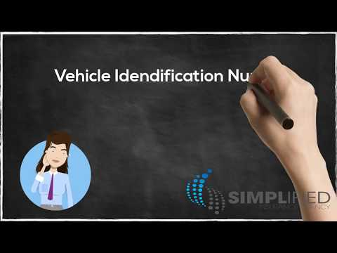 Auto Insurance: What is VIN?  | Simplified Insurance Agency