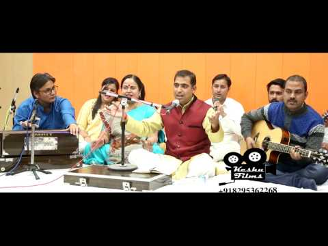 sanware aa jaiyo jamuna kinare mora  karishna bhajan ashok sharma and his group