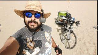 Köpeğimle 40+ derecede İzmir'den Pamucak Sahili'ne pedalladık