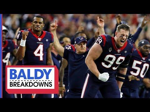 Breaking Down The Texans Wild Card Comeback   Baldy Breakdowns