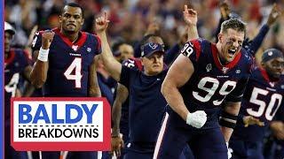 Breaking Down the Texans Wild Card Comeback | Baldy Breakdowns