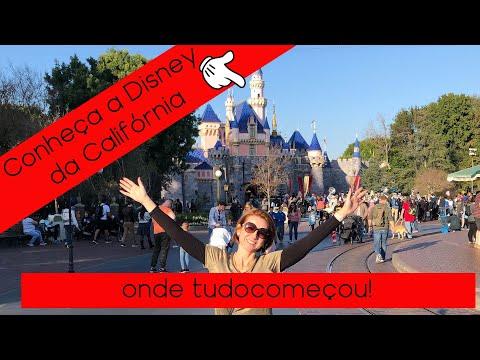 Conheça a Disney da Califórnia | parte 2| Vlog Califórnia #6