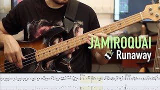 Runaway by JAMIROQUAI (sheet/tab included) @robsonbaroli