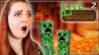 Wir erforschen eine HÖHLE! 😰 LIVE in the Woods! 🌳│ Minecraft: Life In The Woods (05.02.21)