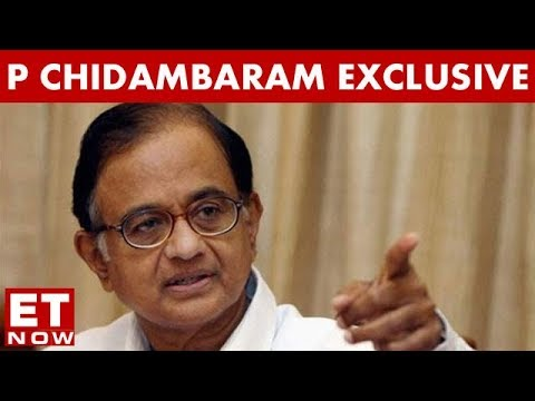 P Chidambaram Talks Exclusively To ET NOW On Completion Of 1 Year Of Demonetisation
