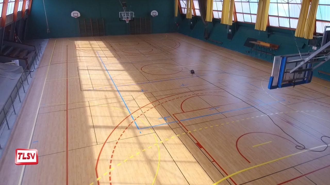 Sol Pour Salle De Sport luçon : un nouveau sol pour les sportifs