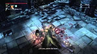 Bloodborne™ Djura hidden dialogue