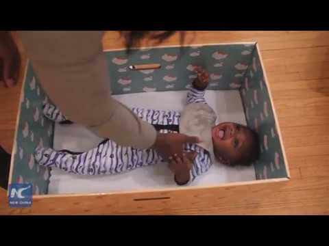 Baby Box guarantees security and comfort for newborns