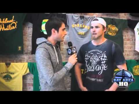 Josh Reddick is going to Wrestlemania XXXI !!!!! Interview with A