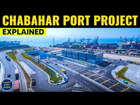 India's $31 Billion CHABAHAR PORT Projects   International NORTH-SOUTH Transport Corridor