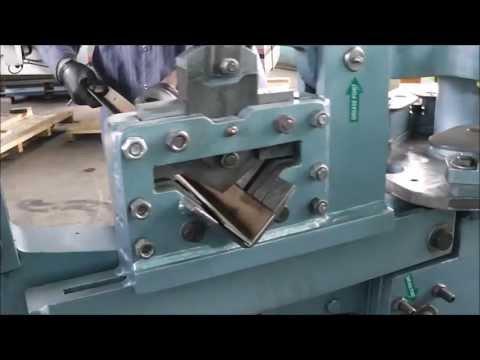 Scotchman 40 Ton Ironworker Scotchman 4014 T Turret