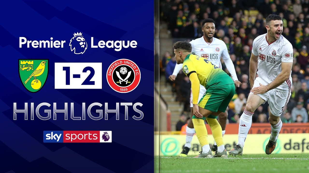 Blades stage second half comeback! | Norwich 1-2 Sheffield United | Premier League Highlights