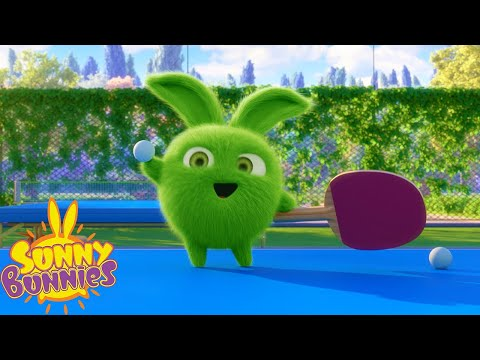 Sunny Bunnies | SUNNY BUNNIES - TABLE TENNIS | Cartoons For Children | Funny Cartoons For Children