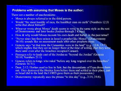 the authorship of the pentateuch mosaic authorship and jedp theory 1 in our inquiries respecting the authorship of the pentateuch, we begin with the undisputed fact that it existed in its present form in the days of christ and his apostles, and had so existed from the time of ezra when the translators of the greek version, called the septuagint, began their work, about 280.