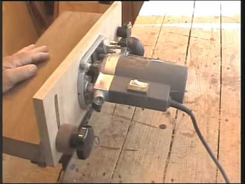 Home made router table k i s s stile youtube greentooth Gallery