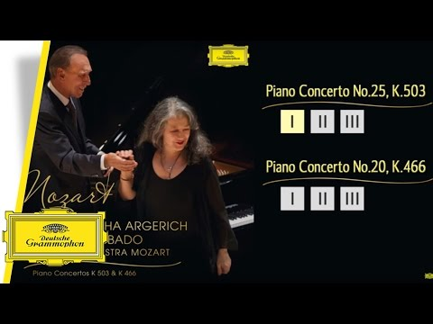 Martha Argerich & Claudio Abbado - Mozart Piano Concertos (Album Player)