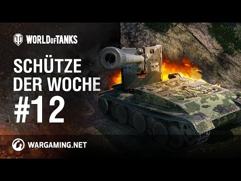 Schütze der Woche #12 [World of Tanks Deutsch] thumbnail