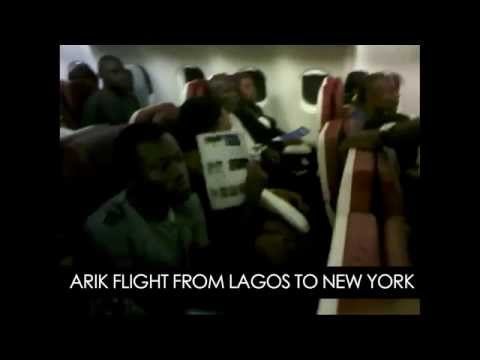 EXCLUSIVE VIDEO: Arik Air's 'Flight from Hell,' and 'Air Rage.' FULL VIDEO Here.