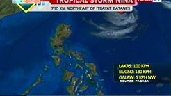 QRT: Weather update as of 5:59 p.m. (Oct 16, 2012)