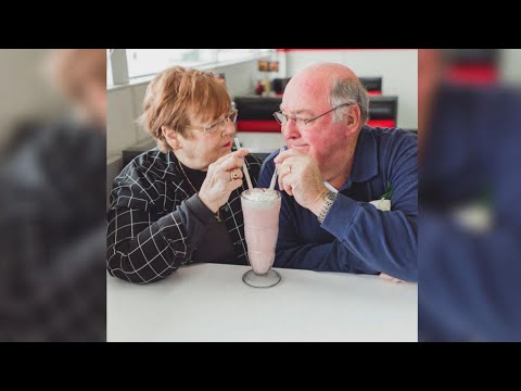 Download Youtube: Couple celebrates 55 years of marriage by recreating their first date