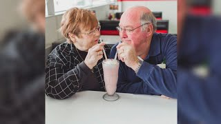 Couple celebrates 55 years of marriage by recreating their first date