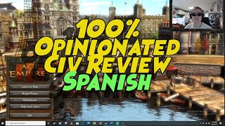 AOE 3 100% Opinionated Civ Review - Spanish