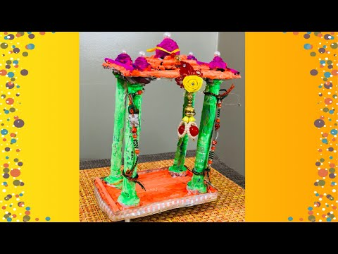 DIY ( Homemade temple for Ganesha) | using newsPaper