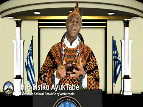 Nation's Address from H.E Sisiku Ayuk Tabe 31st December 2017