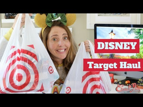 NEW DISNEY Target Haul | May 2018 | Disney Junk Food Collection