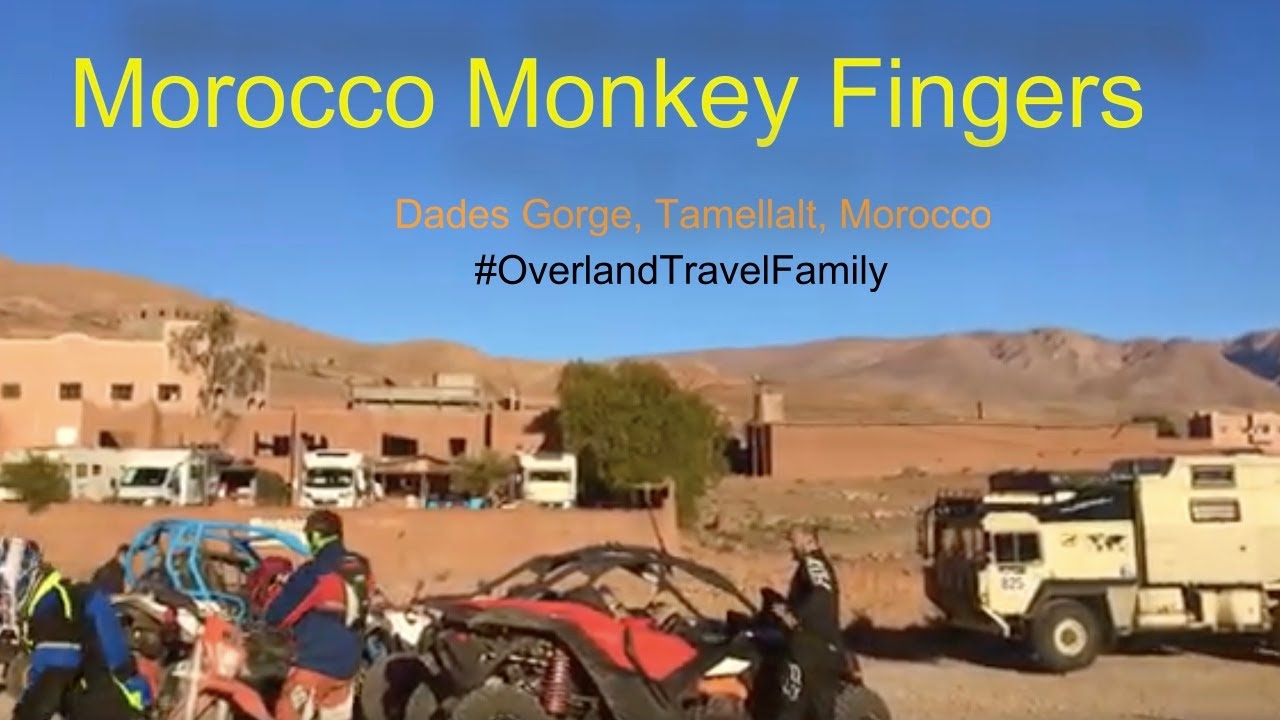 It's oh so quite, Moroccan Monkeyfingers