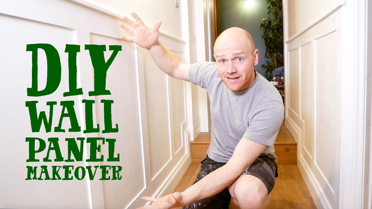 Download TRANSFORM YOUR HALLWAY - Simple DIY Wall Panelling